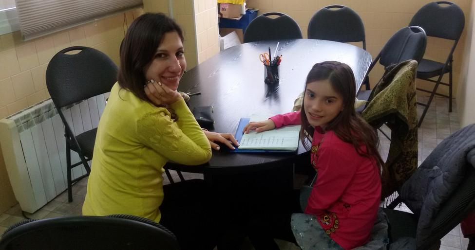 Clases ruso niños adoptados Hospitalet de Llobregat