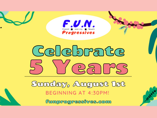 Join us for our 5th Anniversary Party!