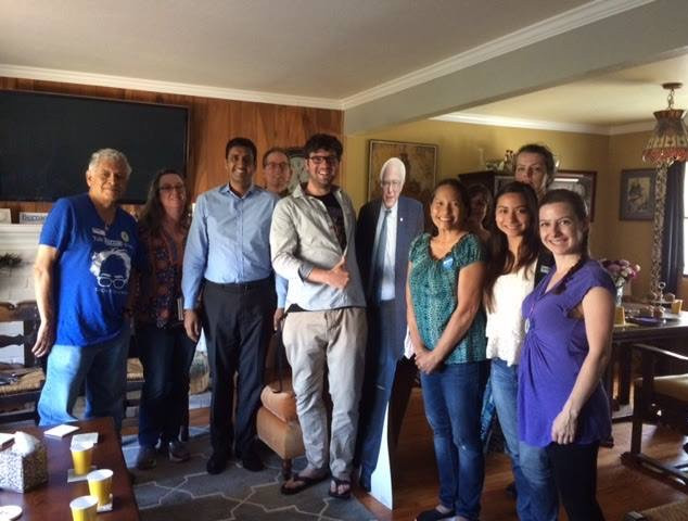 First meeting with Ro Khanna, 2016