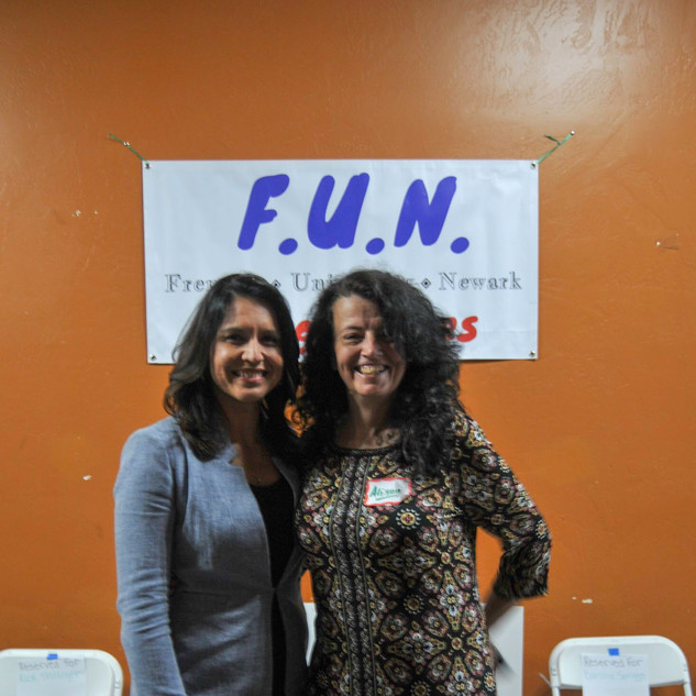 Tulsi & FUN Secretary Alison