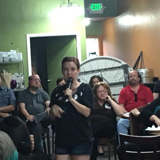 Kelsey leads Candidate forum, Aug 2018