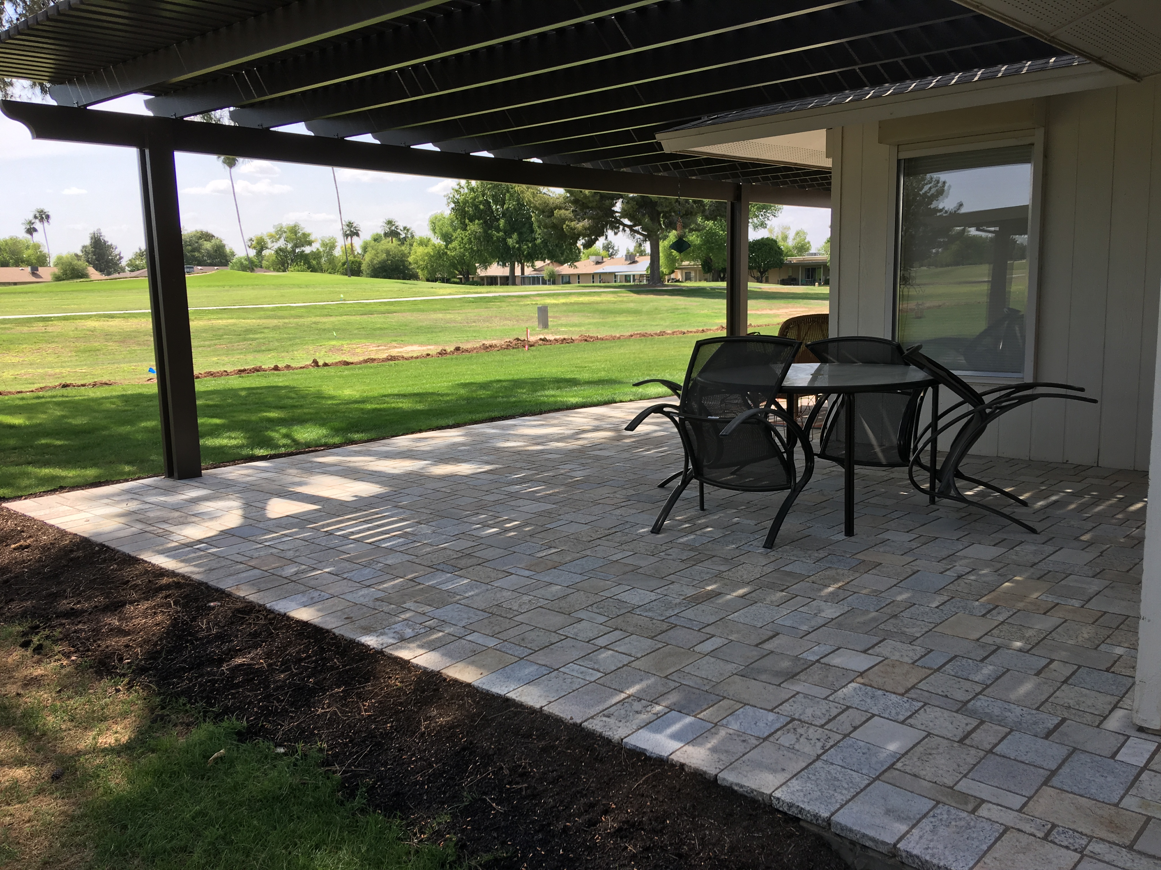 Get ready for the big reveal Patio