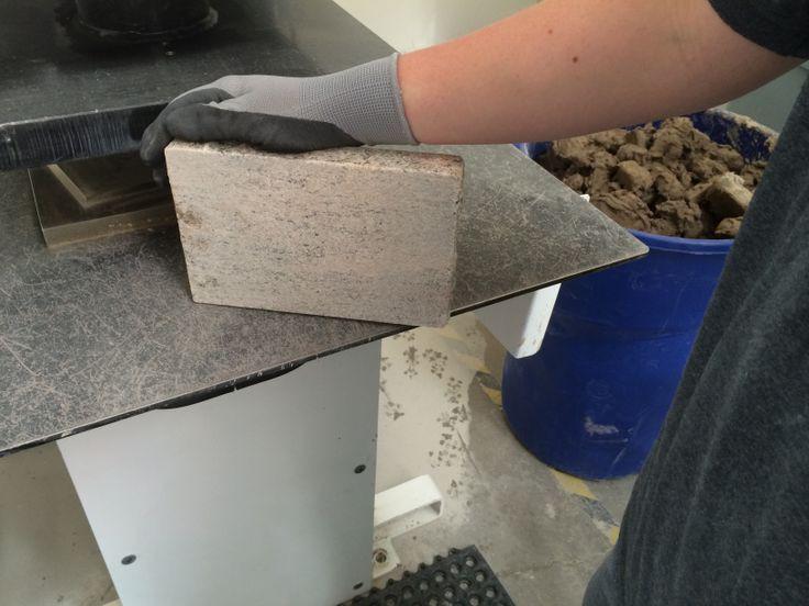 Solid Granite Paver made from countertop scrap