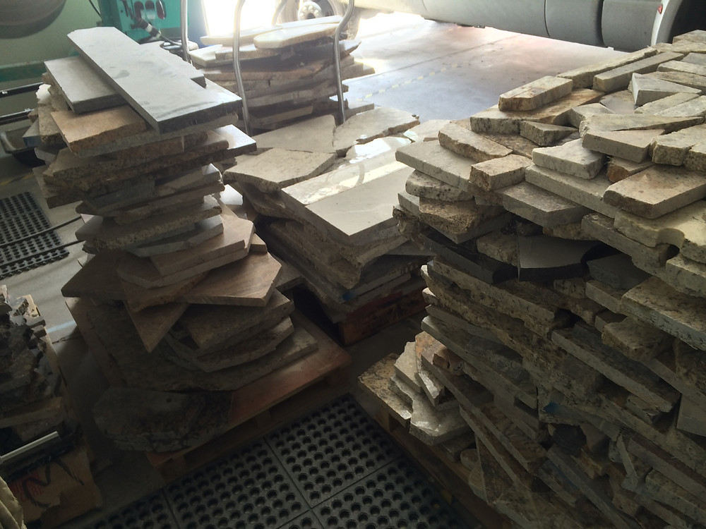 Granite ready for manufacturing