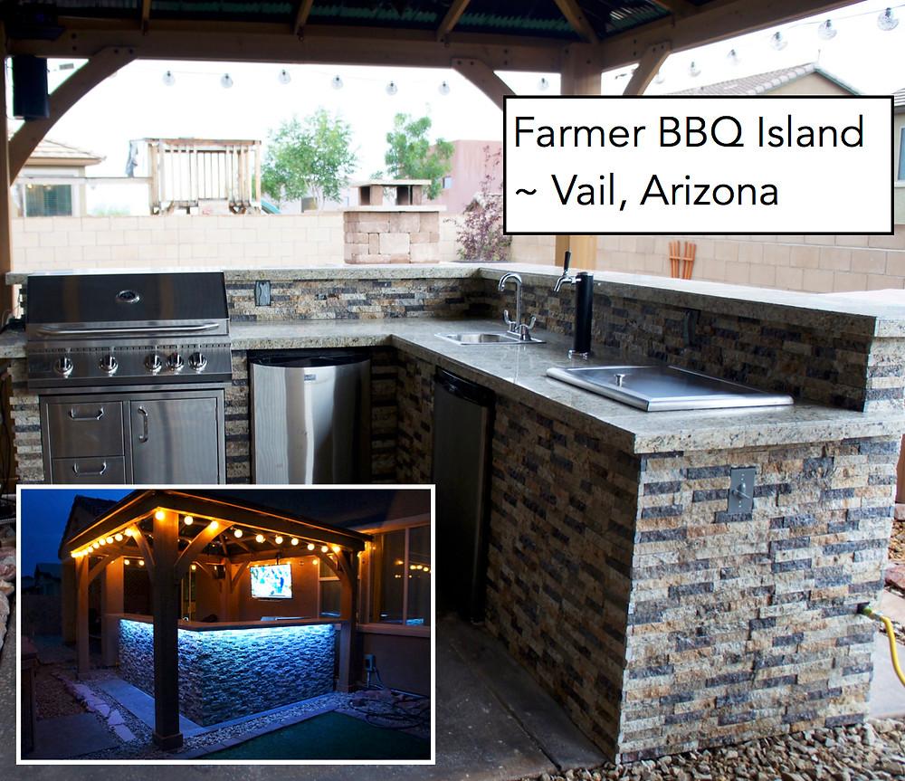 Farmer BBQ Island