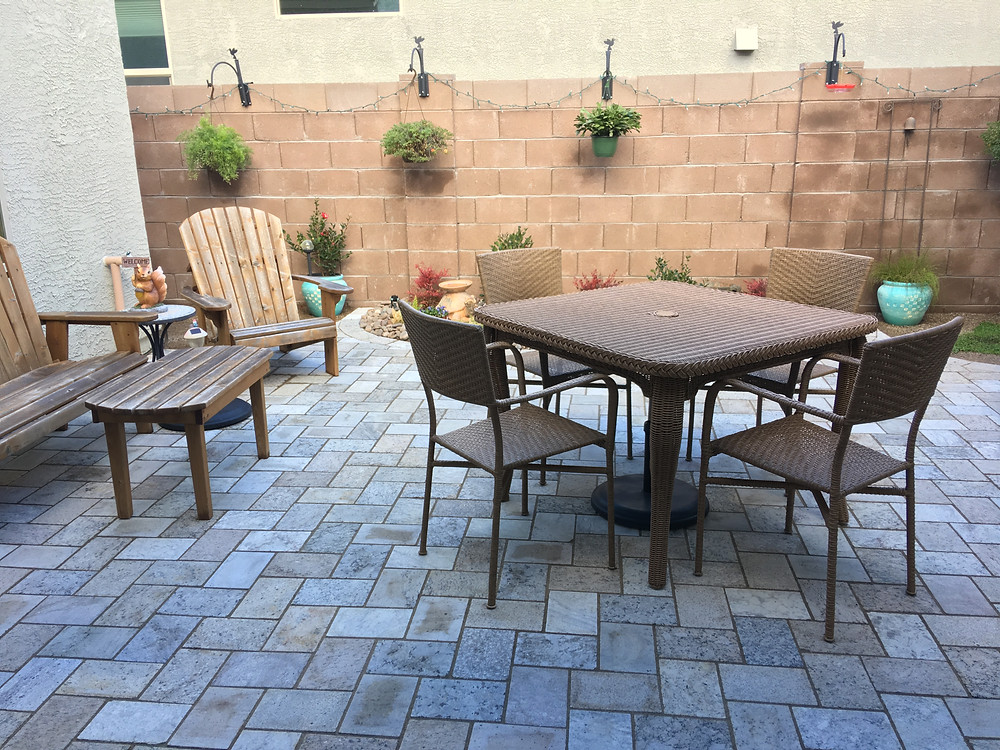 Recycled Granite Pavers