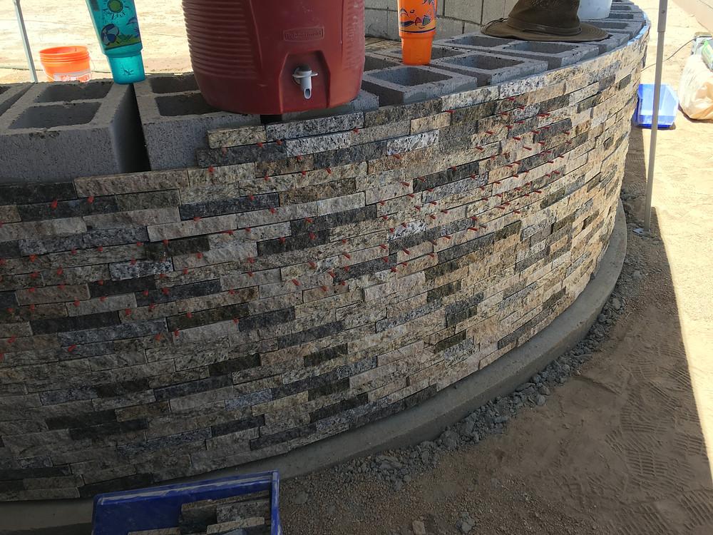 Stone Wall Veneer