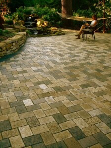 Earth Blend Paver Patio