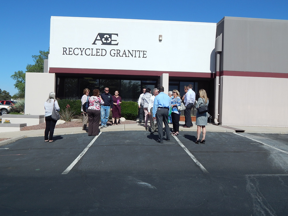 A&E Recycled Granite Grand Opening