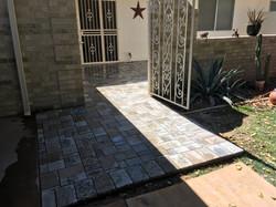 Paver Entryway & Sidewalk