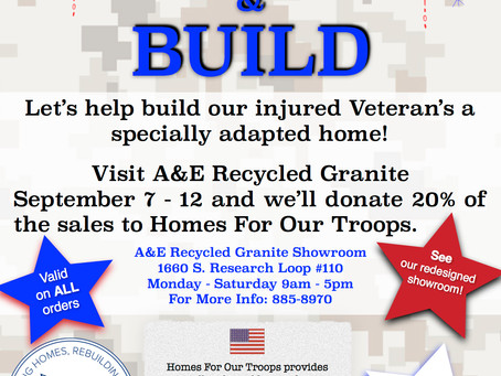 Red, White & BUILD Event