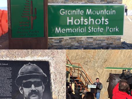 Granite Mountain Hot Shot Park Opens