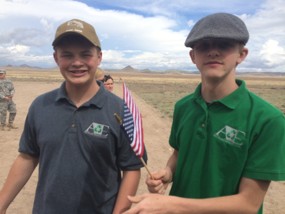 A&E Recycled Granite boys