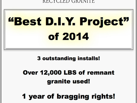 """Best DIY Project"" contest of 2014"