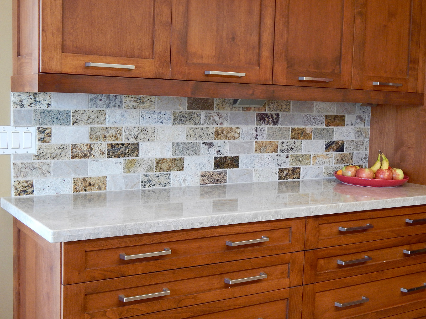 Kitchen Granite Tiles Recycled Granite Arizona Subway Tile