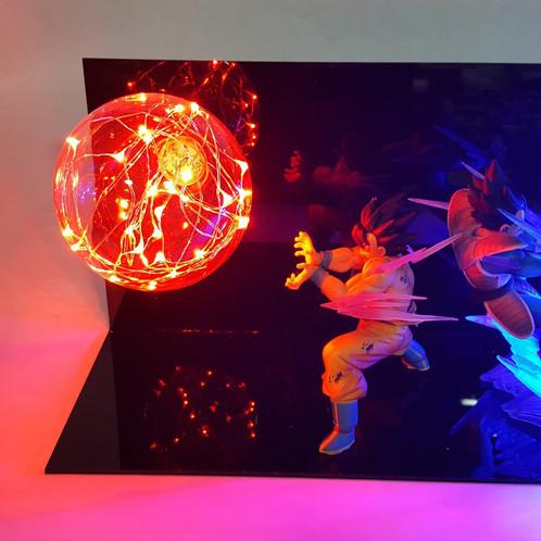 Awesome Original Dragon Ball Lamp. Goku Size: 15cm