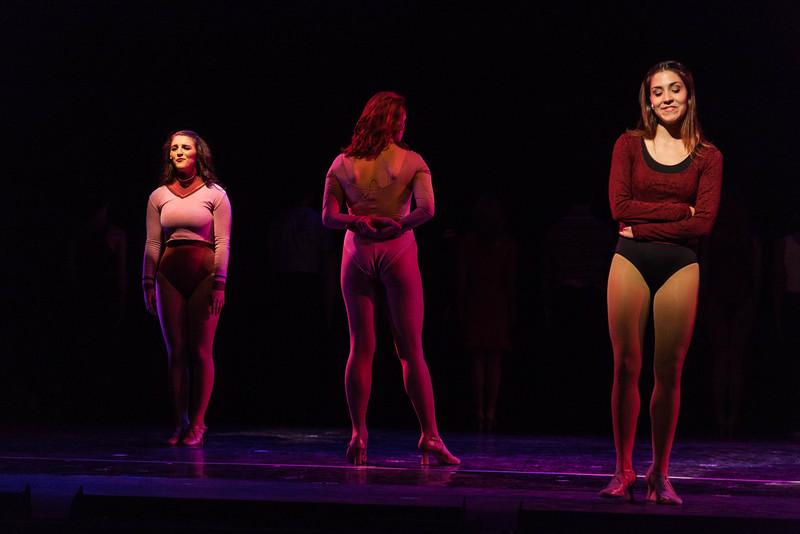 A Chorus Line At the Ballet