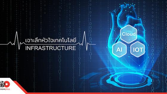 Cloud-AI- IOT Disrupt ใหม่ หัวใจเทคโนโลยี Infrastructure
