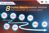 พาธุรกิจให้เป็นที่ 1 ด้วยเคล็ดลับ      8 Digital Transformation Module