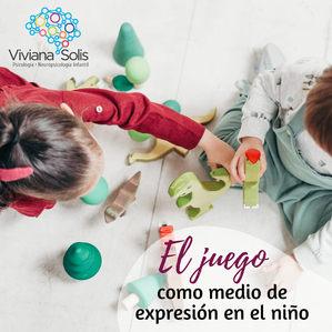 El juego como medio de expresión en el niño