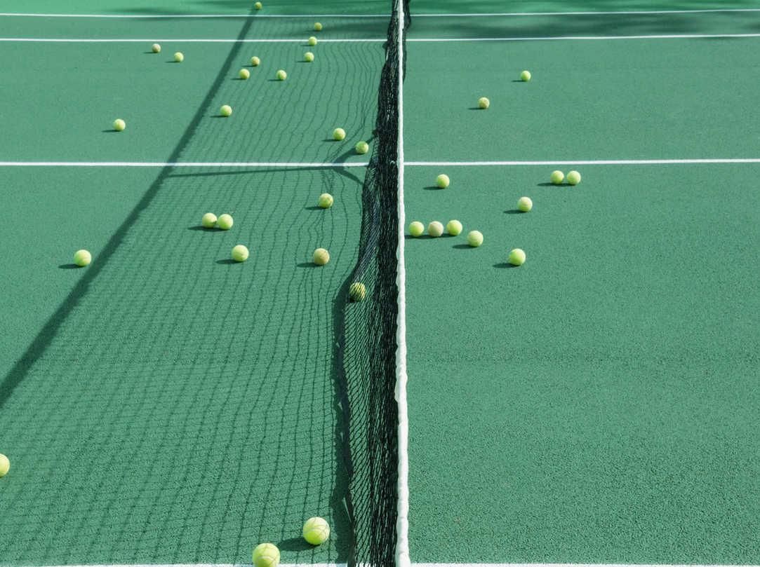ฝึกเทนนิส