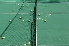 Pratique de tennis