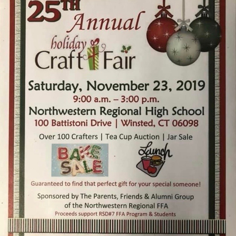 Northwestern Regional Craft Fair November 23