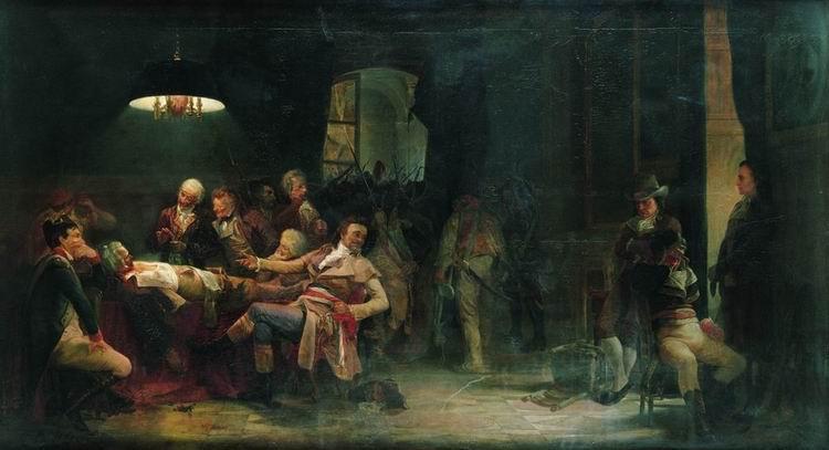 "Imagen: ""Nueve de Termidor"" (Valery Jacob,1864)"