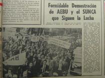 Algunos indicios acerca del sinuoso proceso de unificación sindical en los primeros años de la CNT