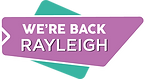 We are back Rayleigh logo