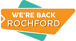 We are back Rochford logo