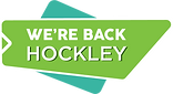 We are back Hockley logo