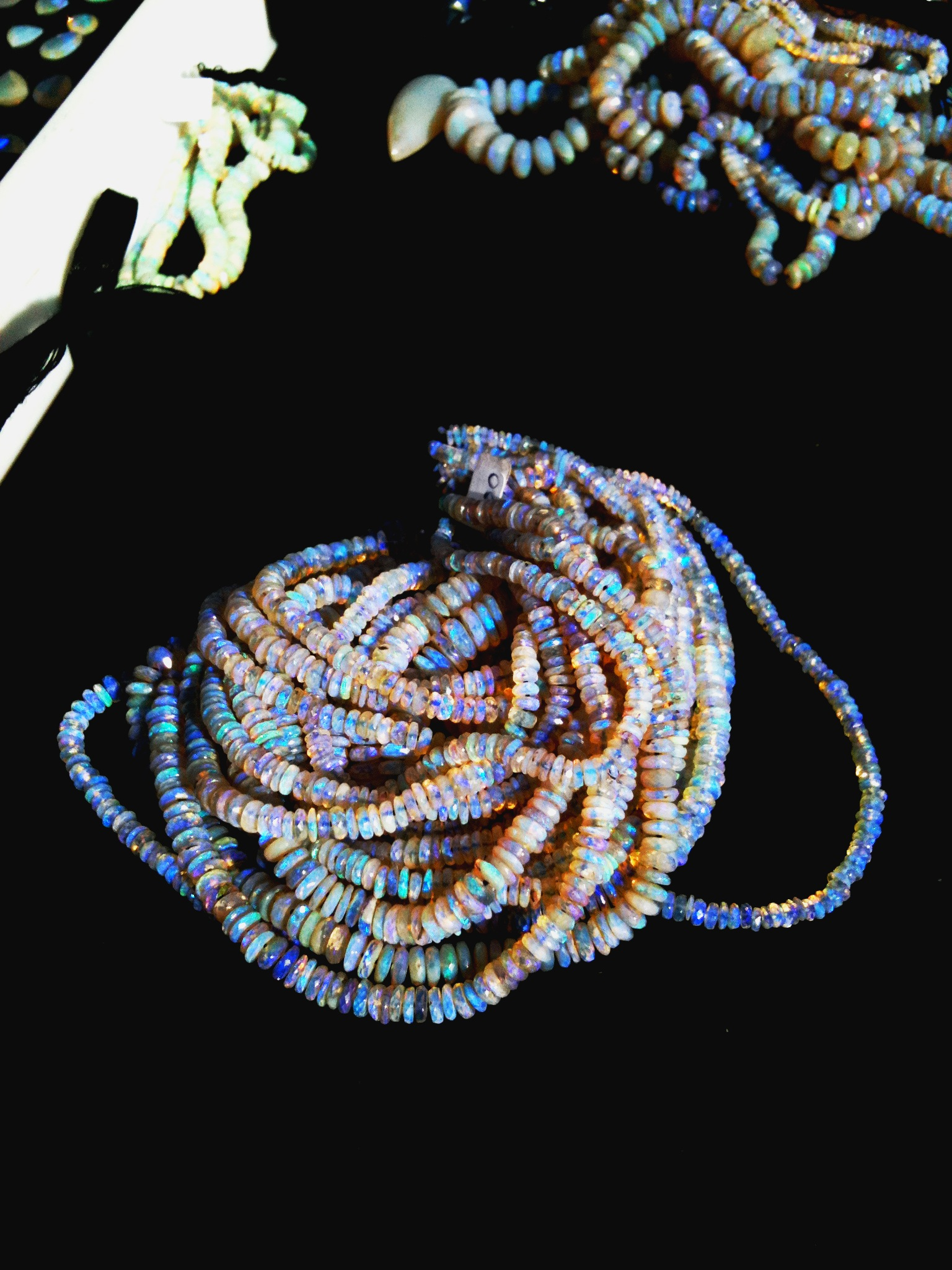 Andamooka Opal Beads