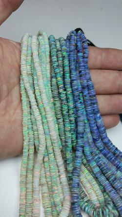 Australian Faceted Opal Beads