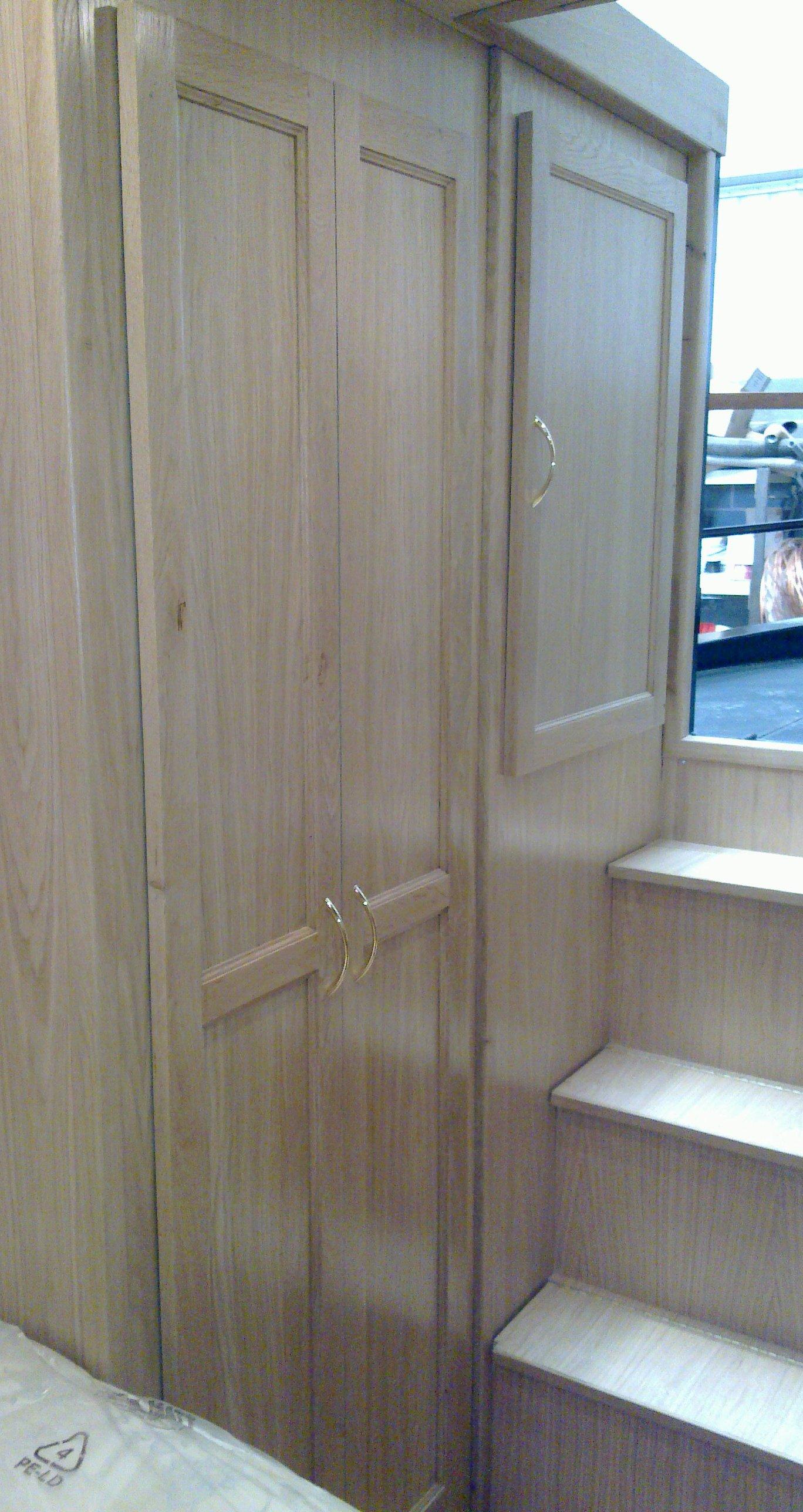 BEDROOM WARDROBE CUPBOARD DOORS AND ELECTRIC DOOR - OAK.jpg