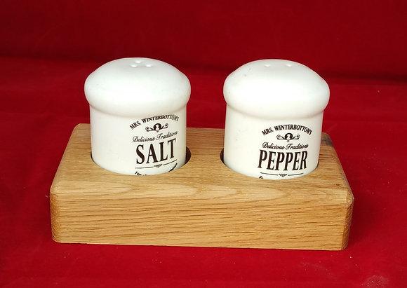 Salt & Pepper - Ceramic - Cream