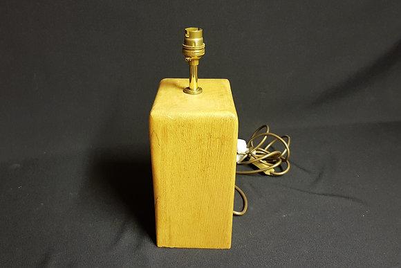 Vertical Beam Table Lamp - Solid Oak