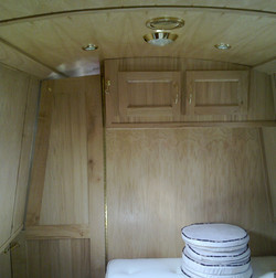 BEDROOM CUPBOARDS & SHAPED DIVIDER DOOR - OAK.jpg