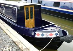 Narrowboat Exterior Doors