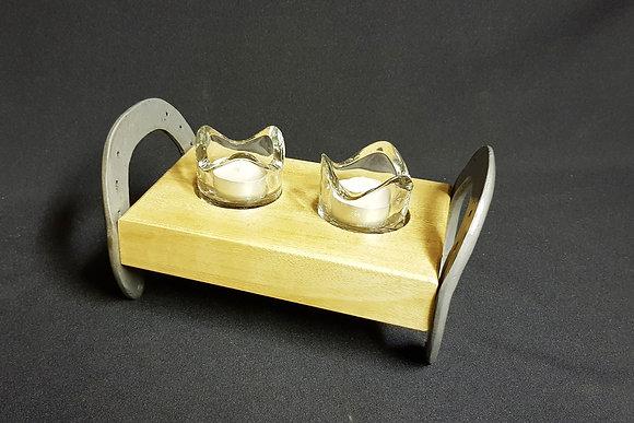 Horseshoe - 2 x Wibble Tea Lights