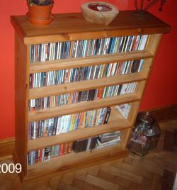 CD-DVD FIXED SHELVING - PINE.JPG