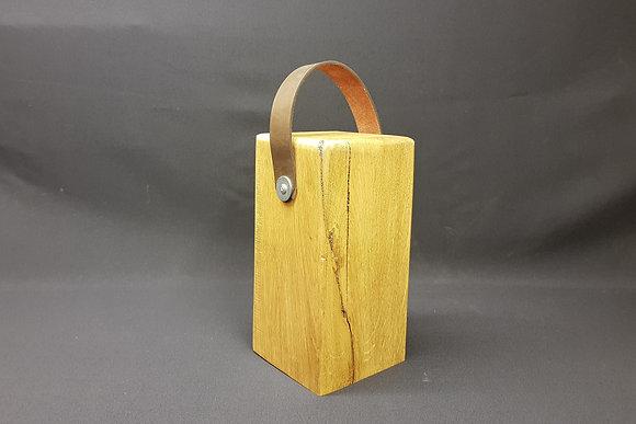 Door Stop - Brown Leather