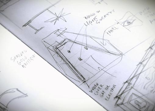 Elk idee begint met een schets