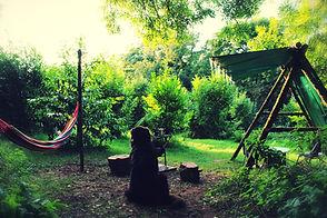 Woodland Camping Pembrokeshire - Family Camping