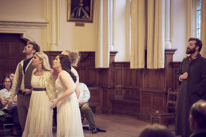 The cast give you an insight into the world of Cyphers' Northanger Abbey.