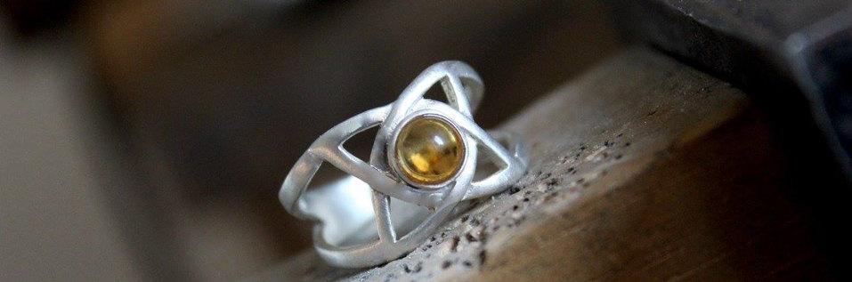 Gerestaureerde Keltische ring
