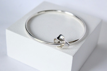 Alice Silver Designs twisted charm bangl