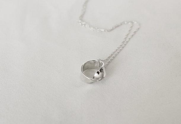 sterling zilveren verdraaide ring hanger