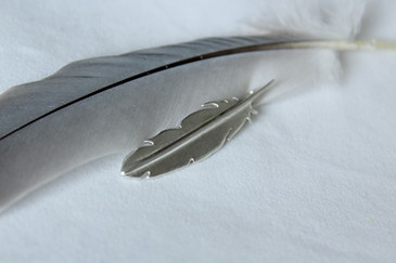 Alice Silver Designs zilveren hanger vee