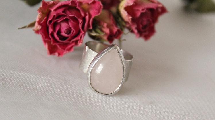 Rozen kwarts ring